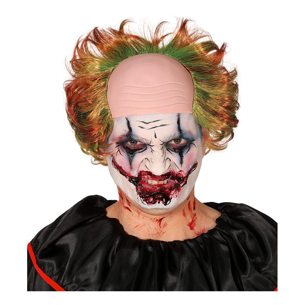 Clownperuk Flerfärgad med Flint - One size