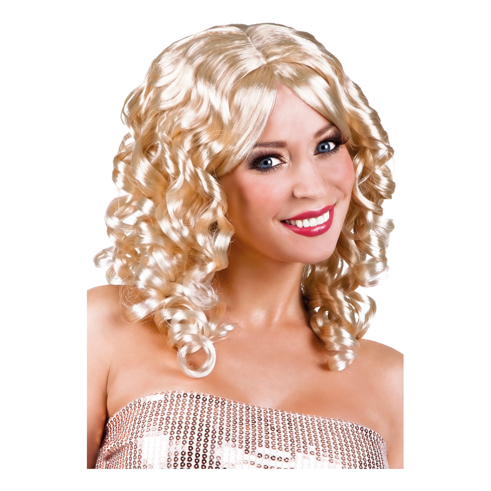 Cocktail Blond Peruk - One size