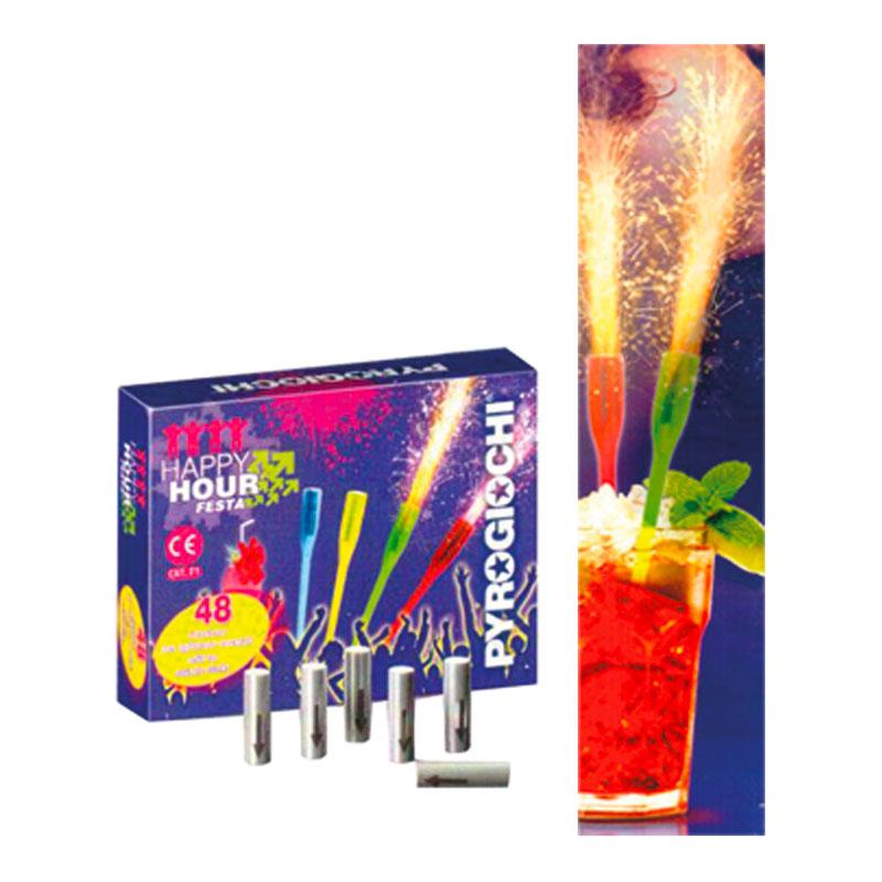 Cocktailsticks Fontäner - 48-pack thumbnail