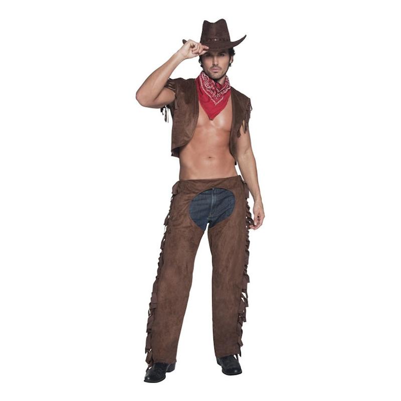Cowboy Hunk Maskeraddräkt - One size