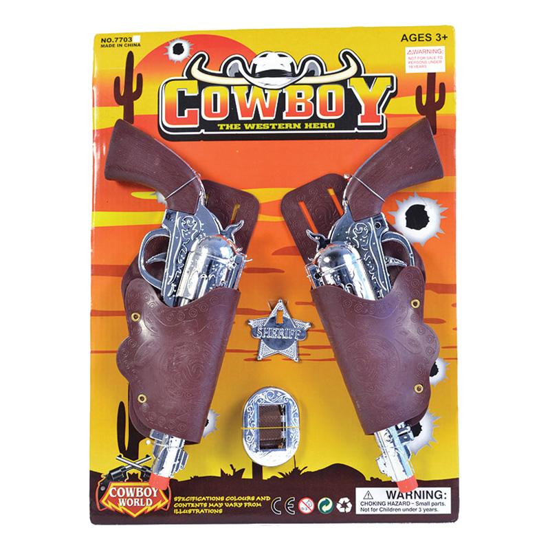 Cowboy Pistolset Barn