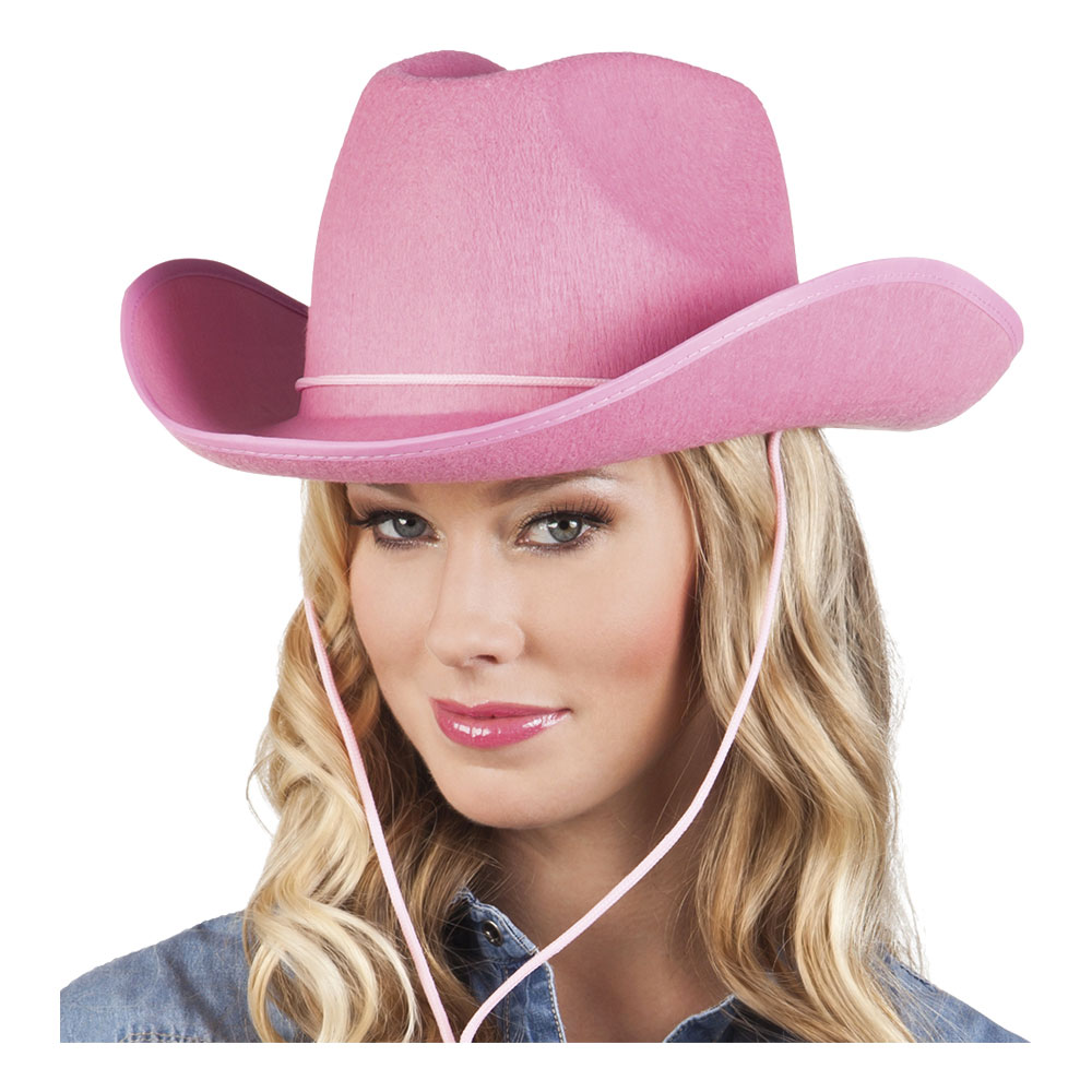 Cowboyhatt Rodeo Rosa - One size