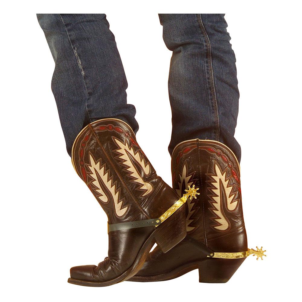 Cowboysporrar Guld