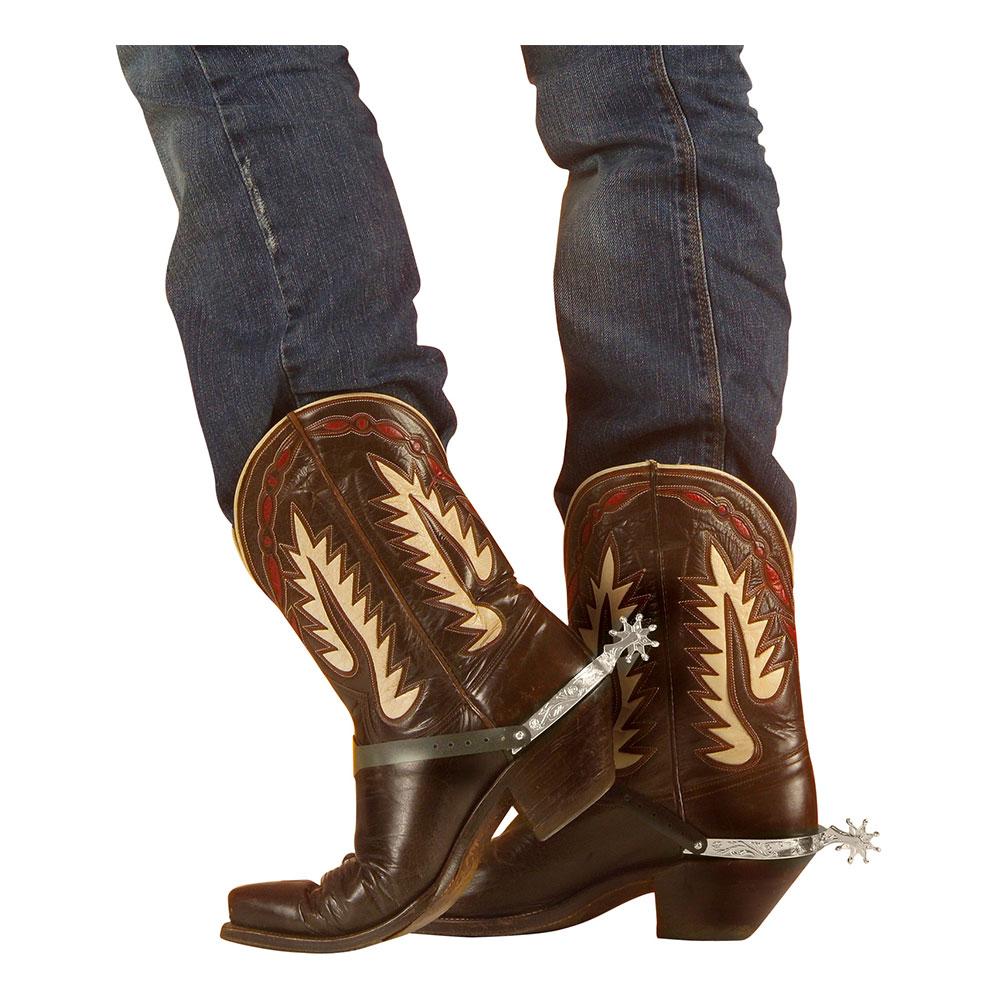 Cowboysporrar Silver - 2-pack