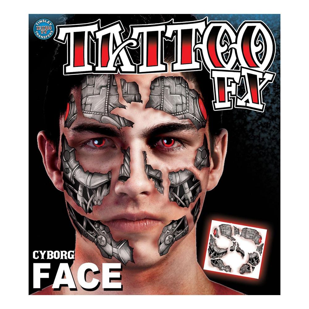 Cyborg Tatuering FX