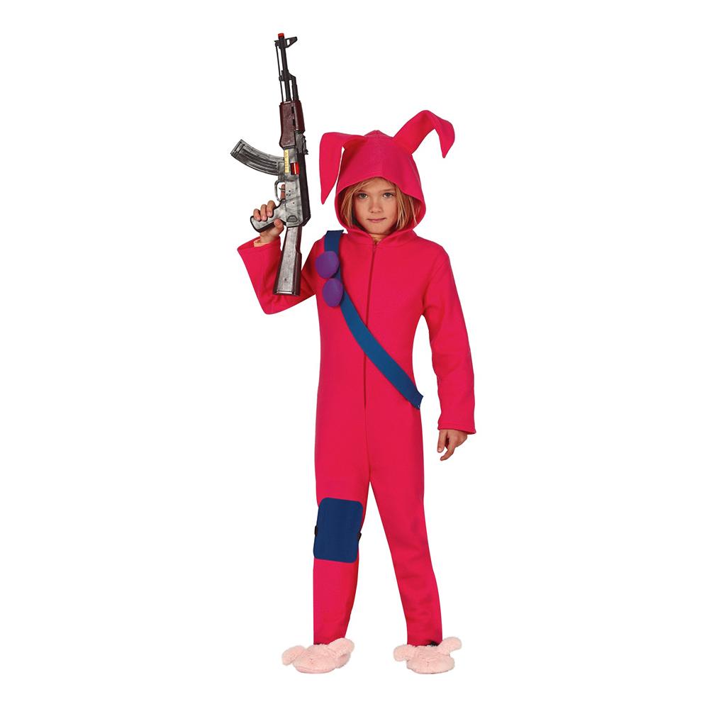 Kanin-produkter - Datorspel Kanin Barn Maskeraddräkt - 7-9 år
