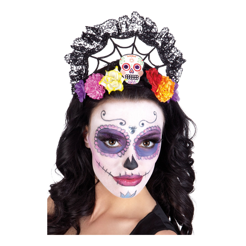 Day of the Dead Tiara - One size