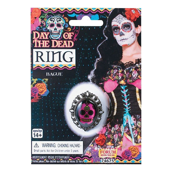 Day of the Dead Ring - One size