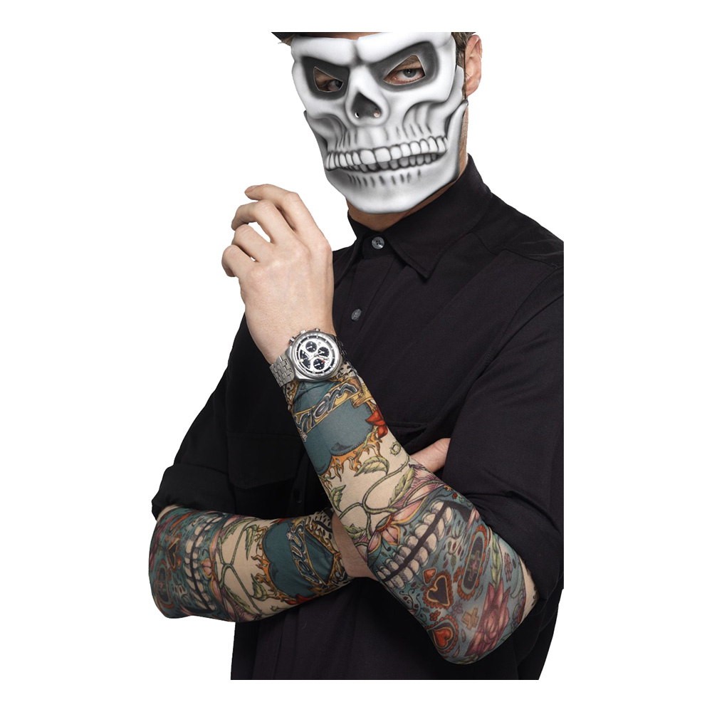 Day of the Dead Tatueringsärmar - 2-pack