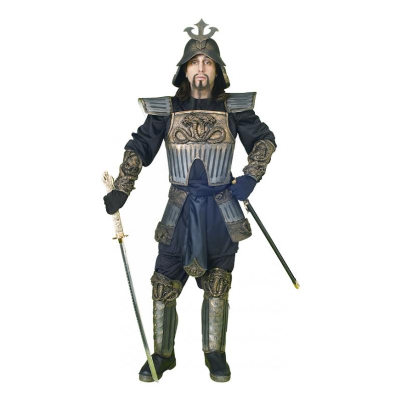 Samurai Krigare Deluxe Maskeraddräkt - One size