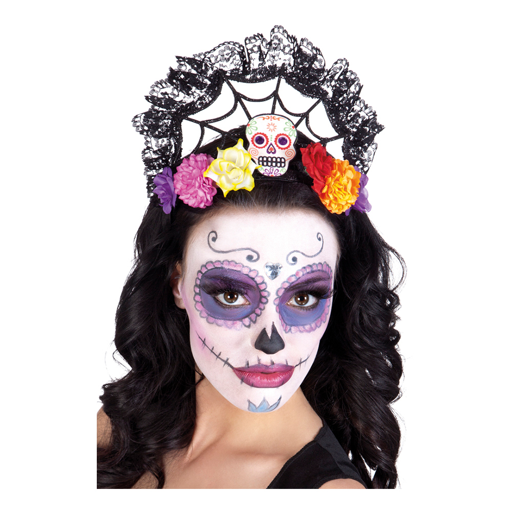 Tiara Day of the Dead - One size