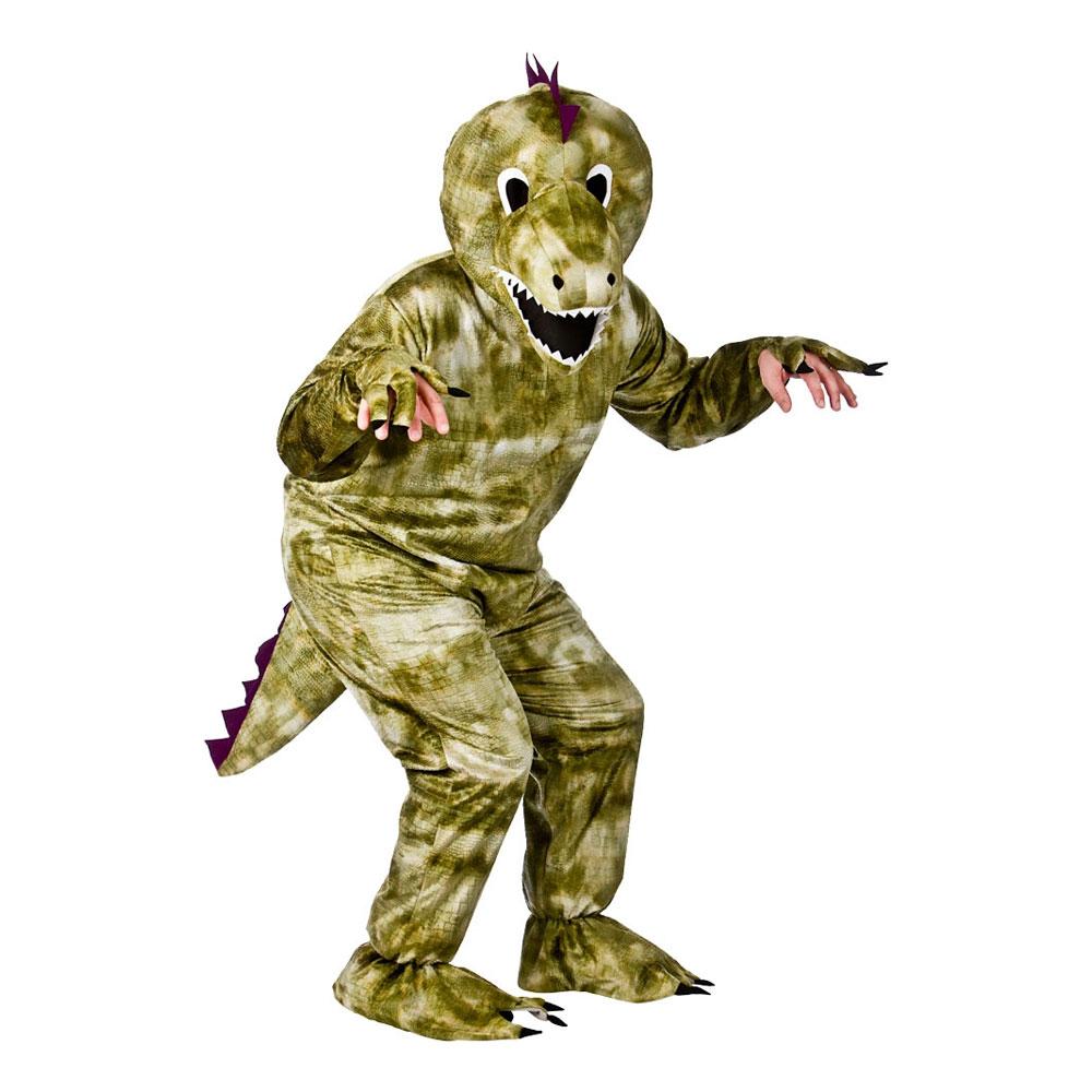 Dinosauriemaskot Maskeraddräkt - One size