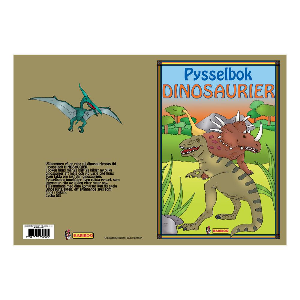 Dinosaurier Pysselbok