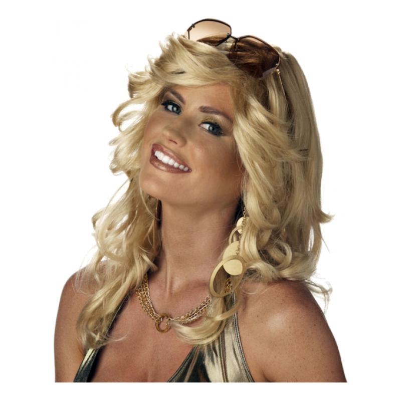 Discorama Mama Blond Peruk - One size