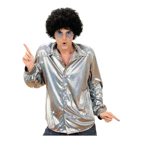 Discoskjorta Silver - One size