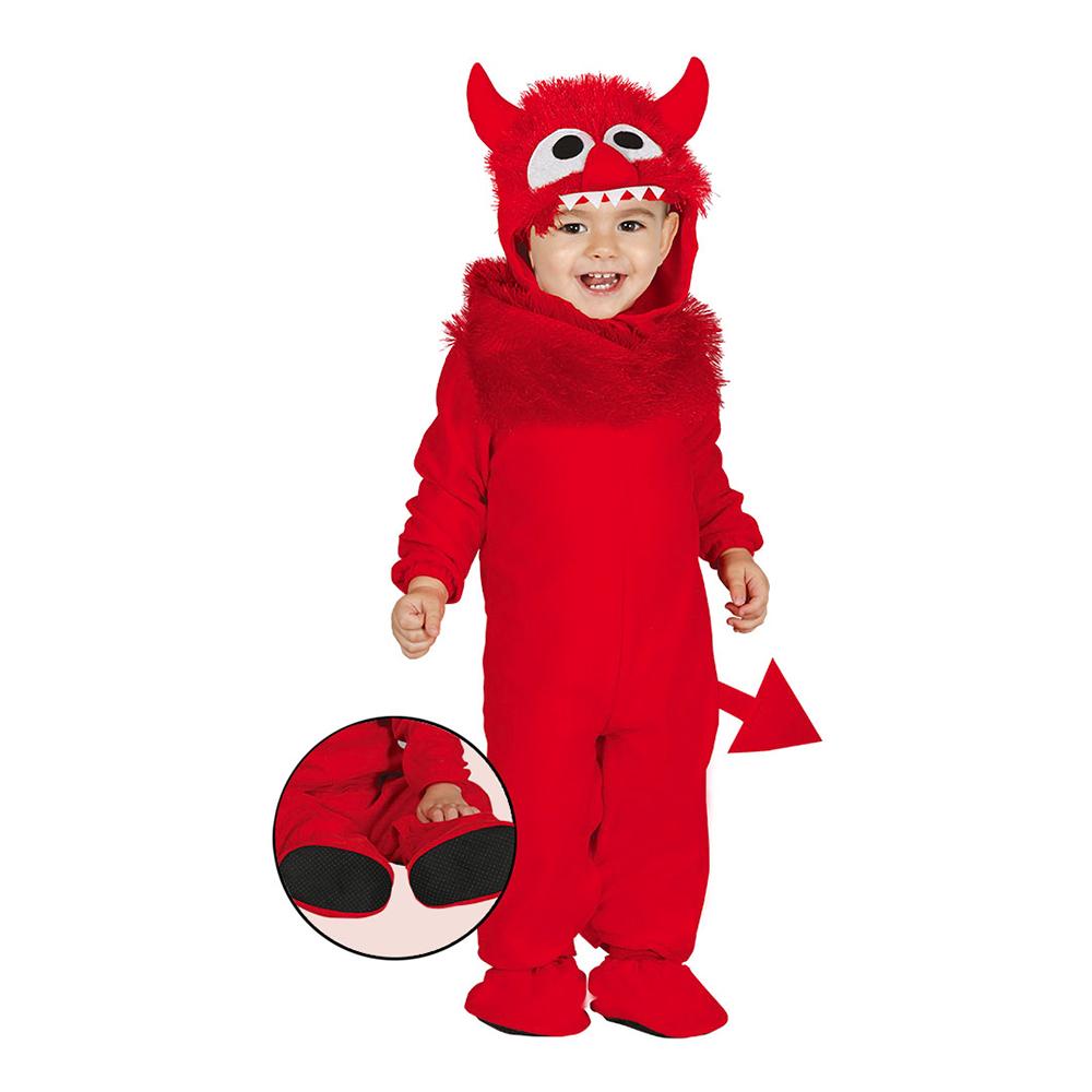 Djävul Bebis Maskeraddräkt - 6-12 mån