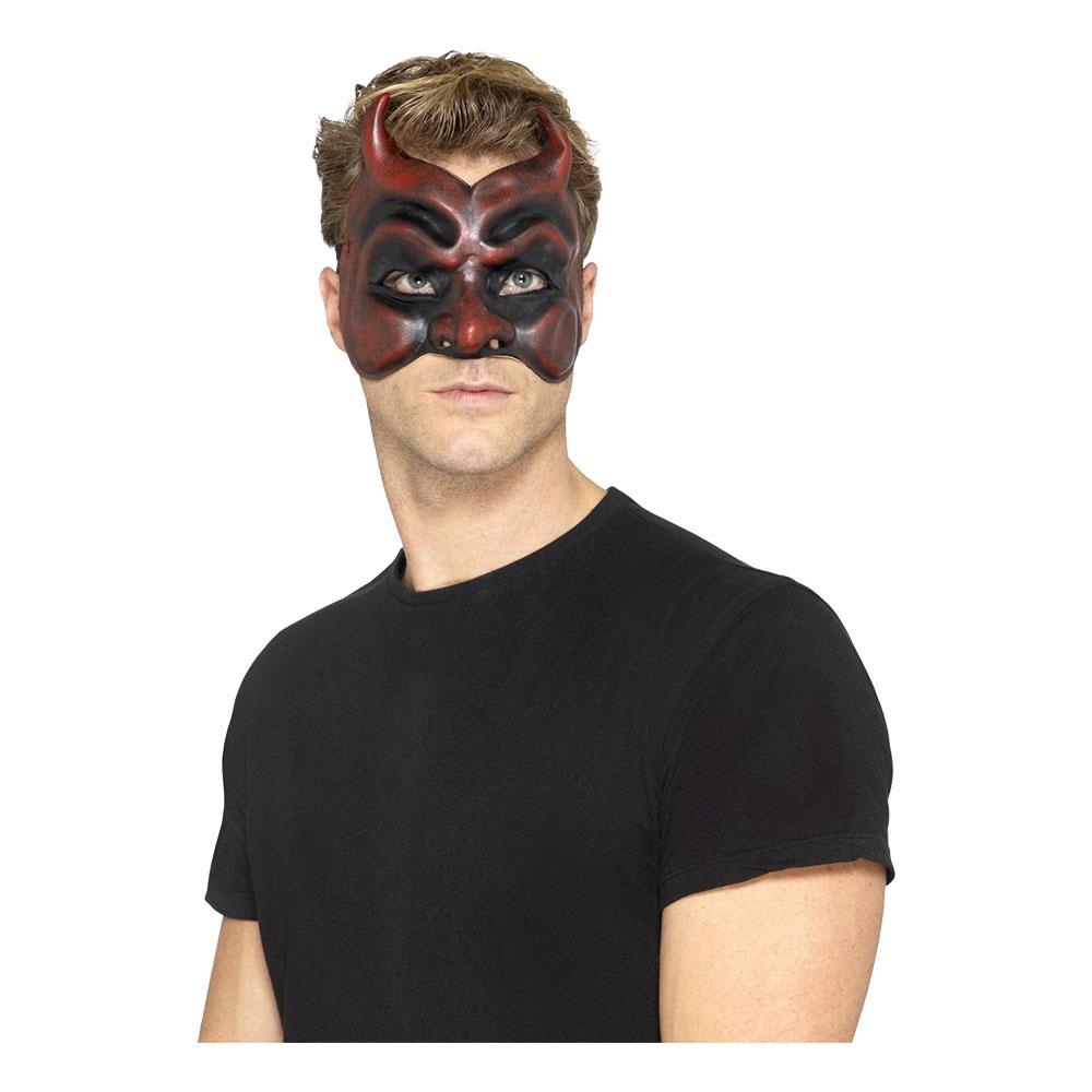 Djävul Halvmask - One size