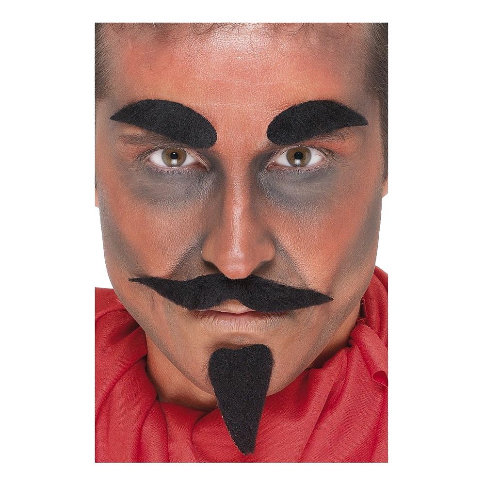 Djävul Mustaschset