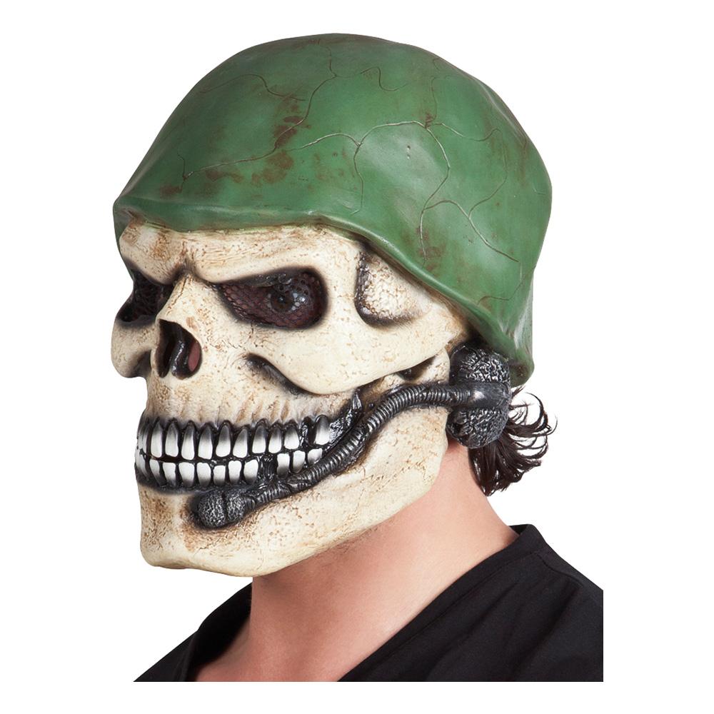 Dödskalle Soldat Mask - One size