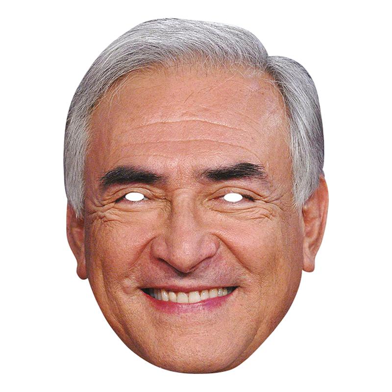 Dominique Strauss-Kahn Pappmask