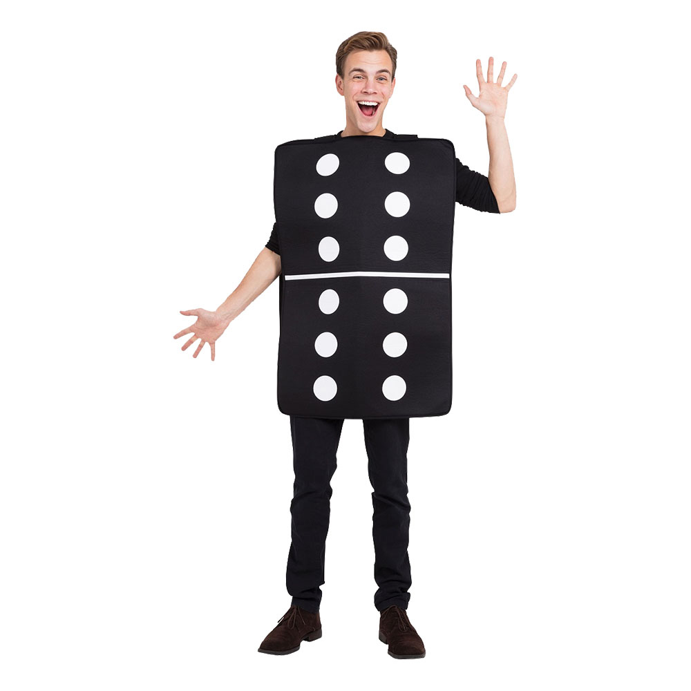 Domino Maskeraddräkt - One size