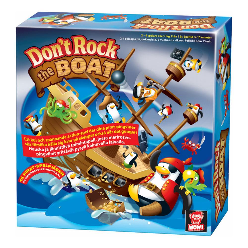 Don't Rock the Boat Barnspel