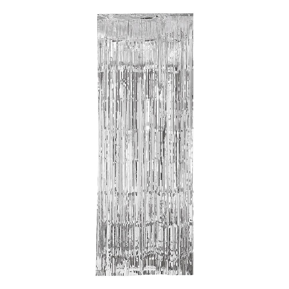 Dörrdraperi Silver Metallic