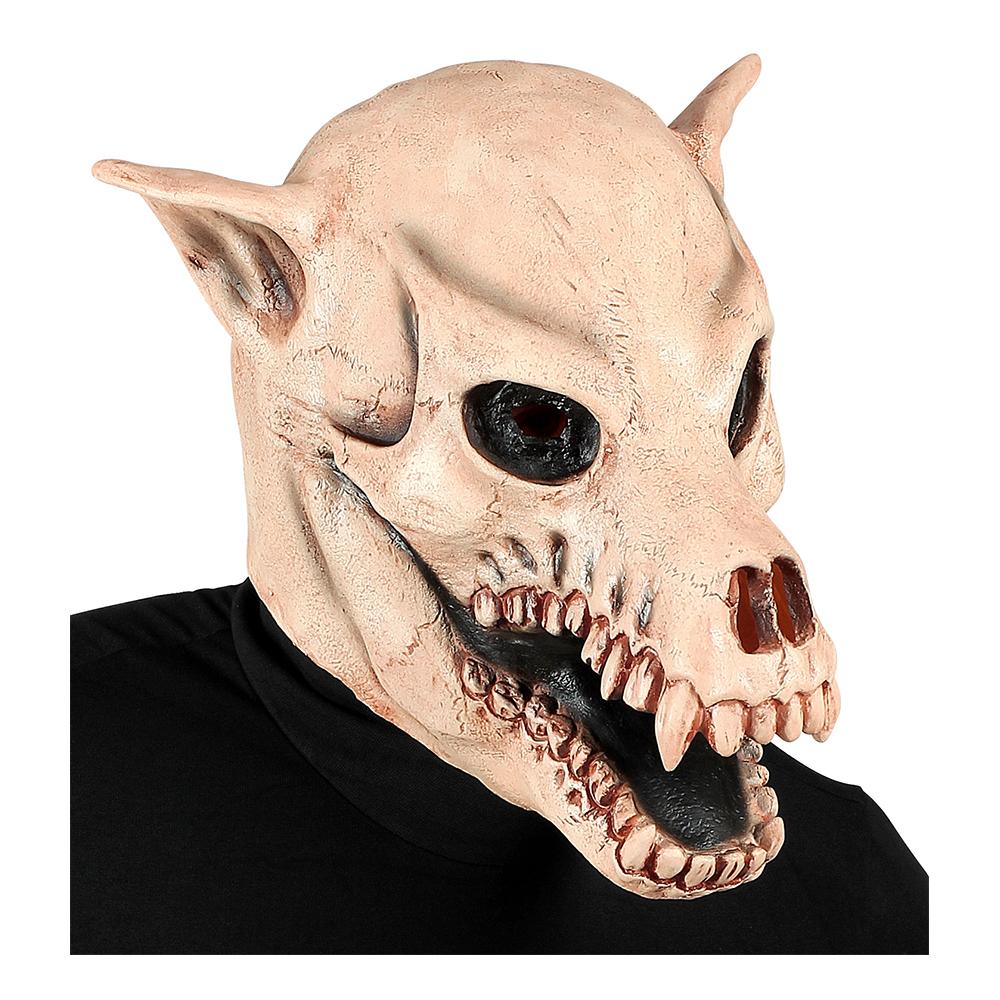 Döskalle Hund Mask - One size