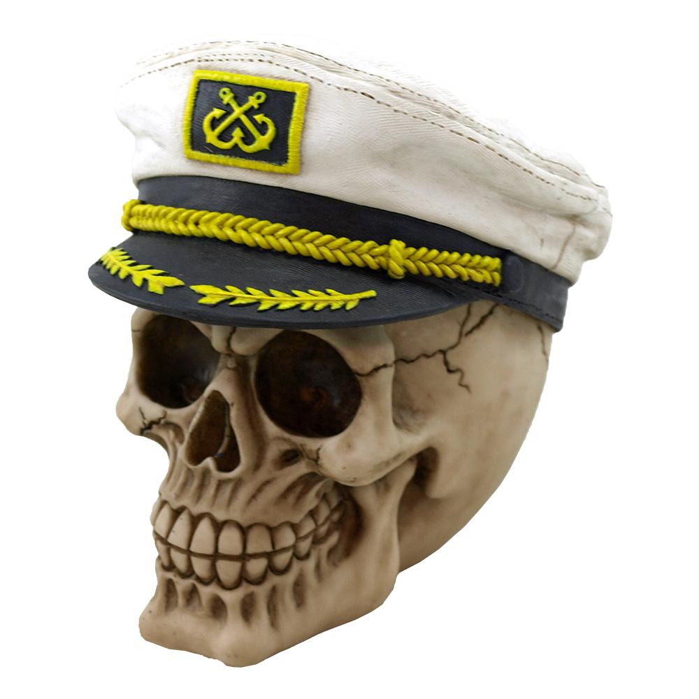 Döskalle Kapten Dekoration