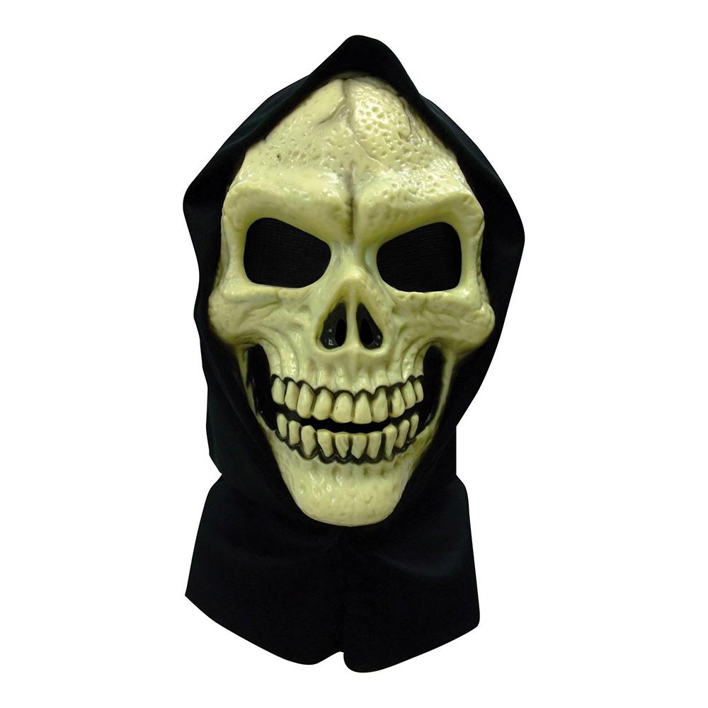 Döskalle Mask med Huva