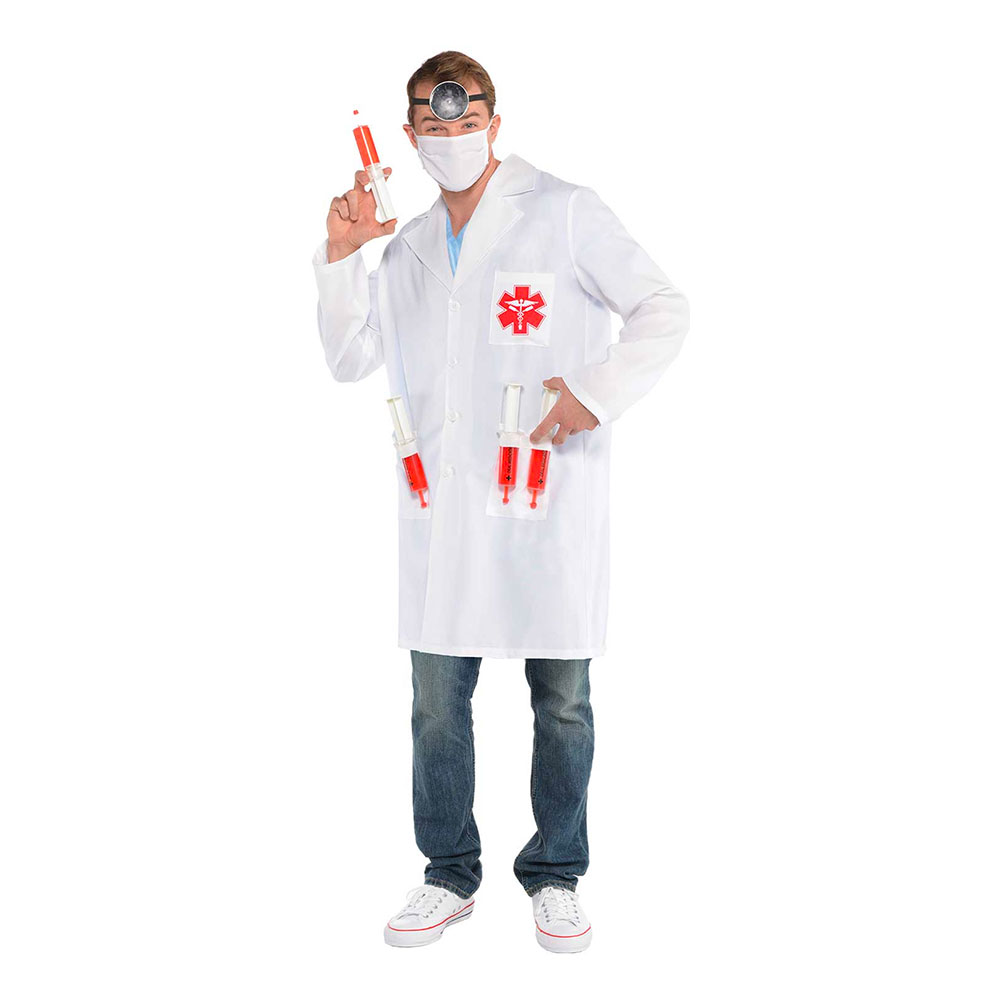 Dr. Hot Shot Maskeraddräkt - One size