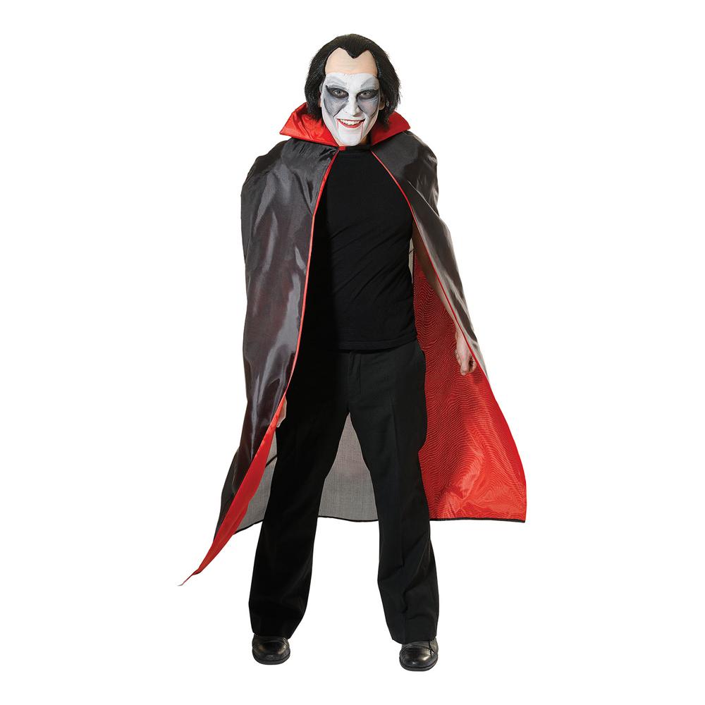 Draculacape med Rött foder - One size