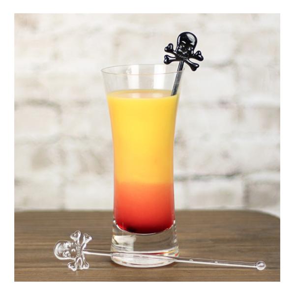 Drinkpinnar med Dödskallar