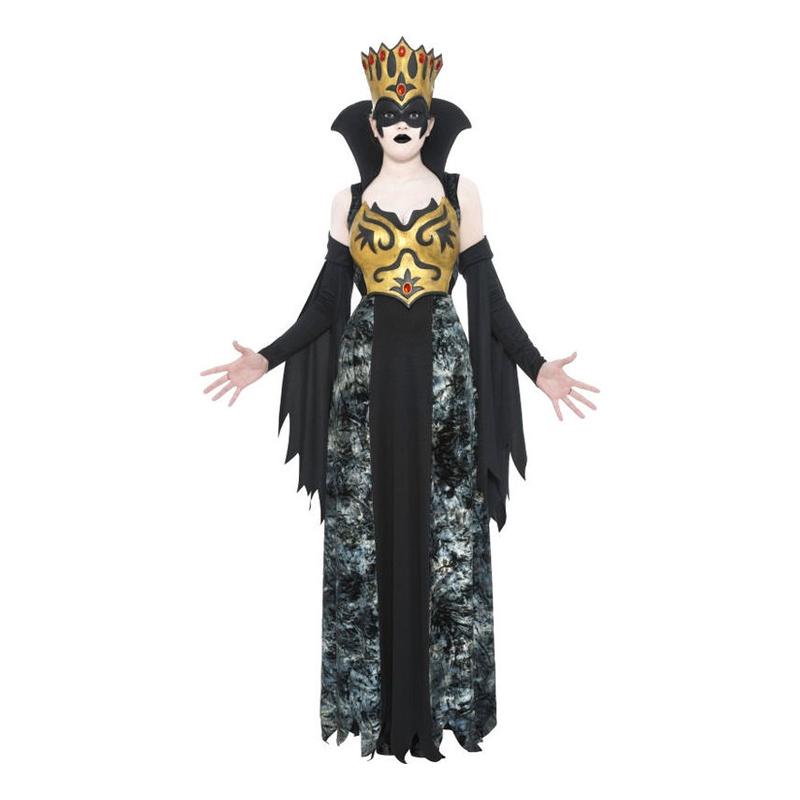 Drottning Halloween Maskeraddräkt - Large