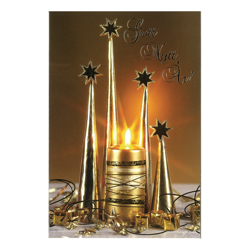 Nyårskort med Kuvert - 1-pack