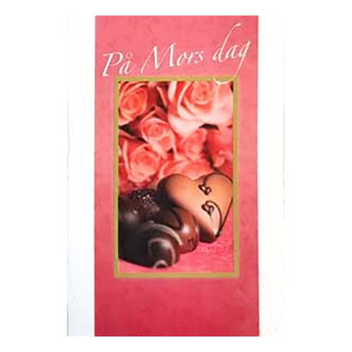 Dubellkort Mini På Mors dag Rosa Rosor