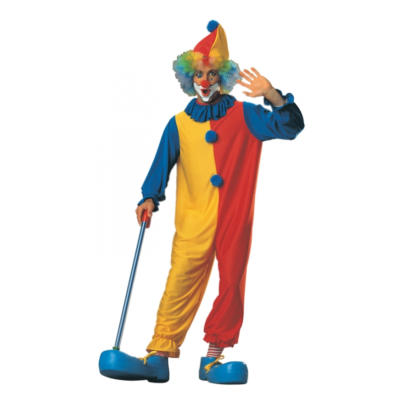 Clown Budget Maskeraddräkt - One size