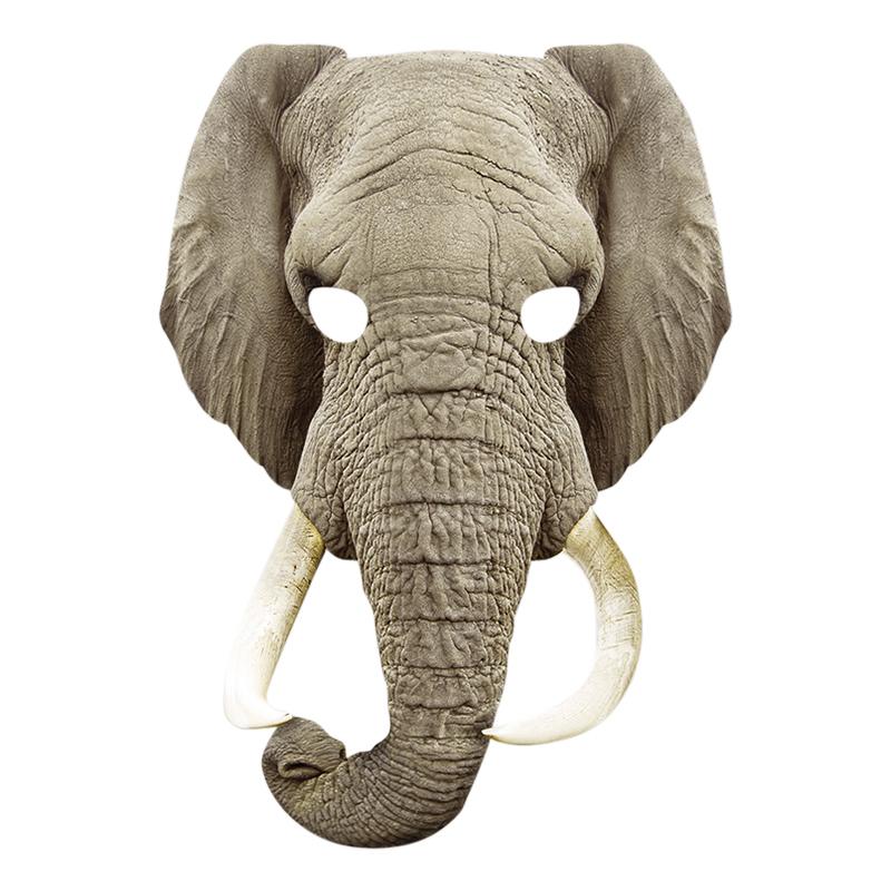 Pappmasker - Elefant Pappmask