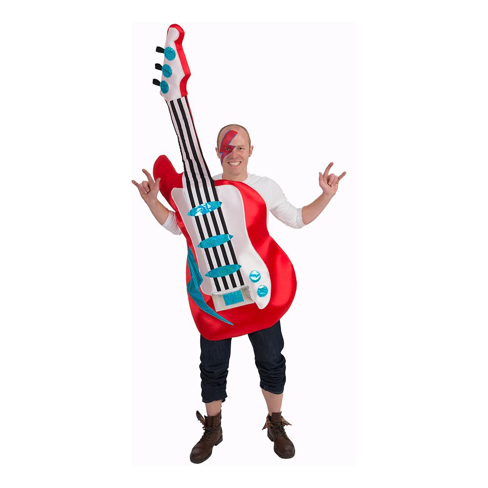 Elektrisk Gitarr Maskeraddräkt - One size