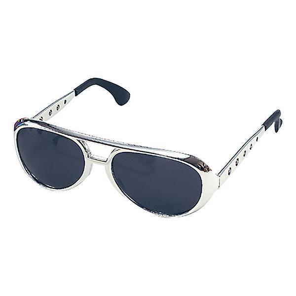 Elvis Solglasögon - Silver