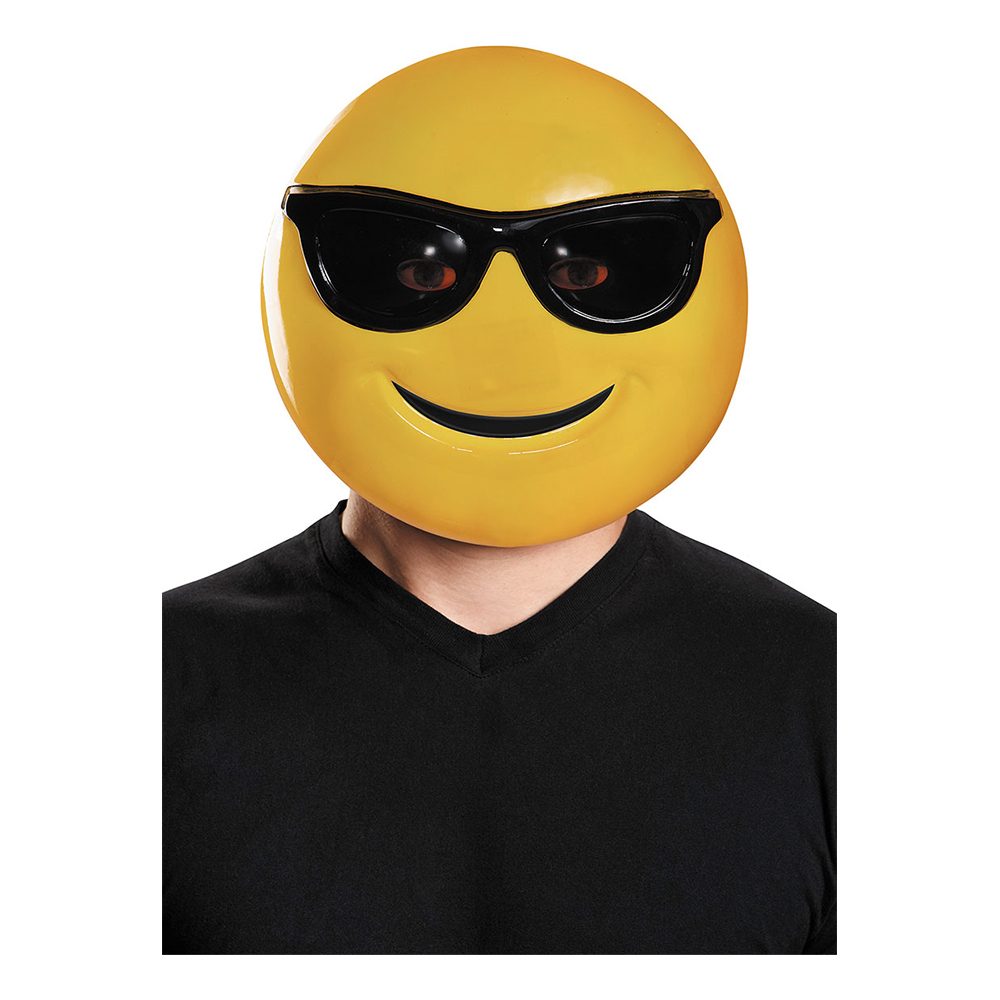 Emoji Mask Sunglasses - One size
