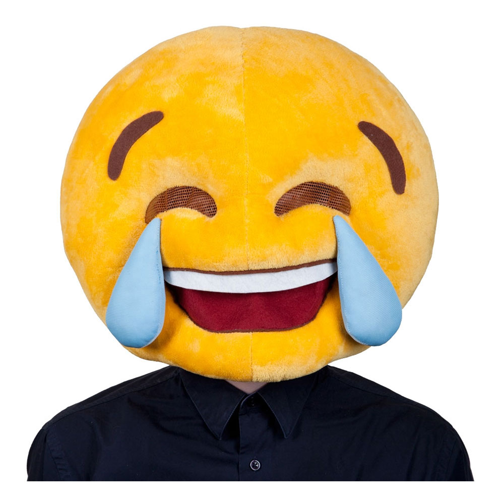 Emoji Tears of Joy - Ansiktsmask