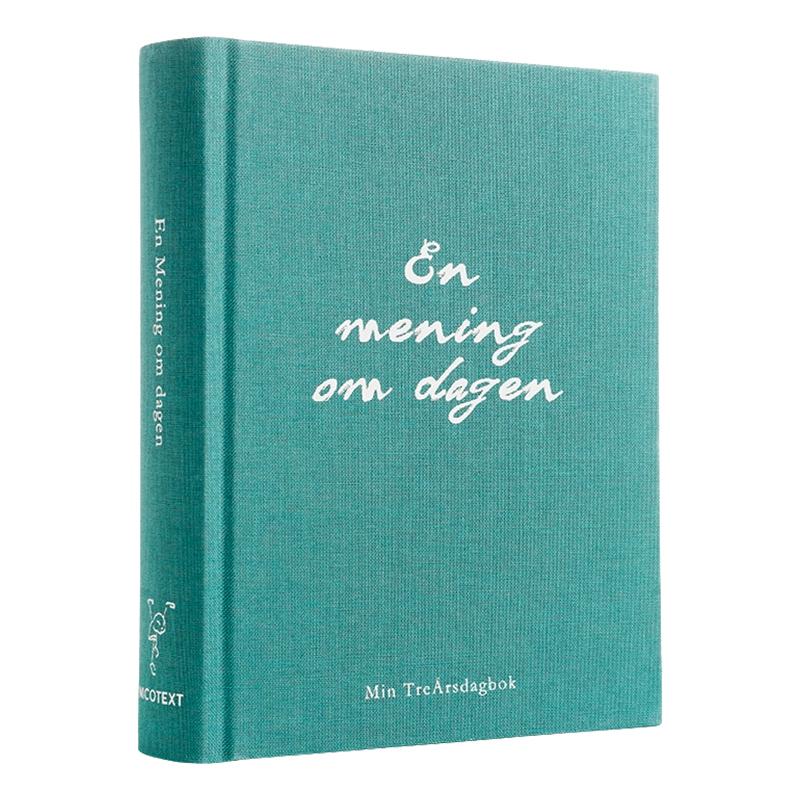 En mening om dagen 99 drömmar Bok