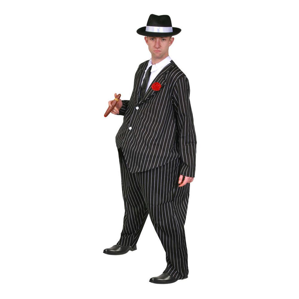 Fat Gangster Maskeraddräkt - One size