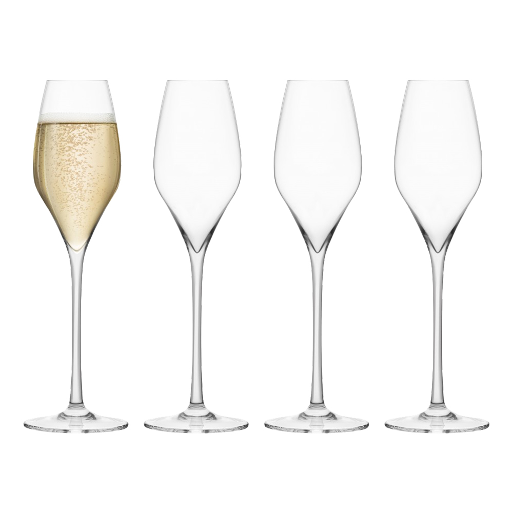 Final Touch Kristall Champagneglas - 4-pack