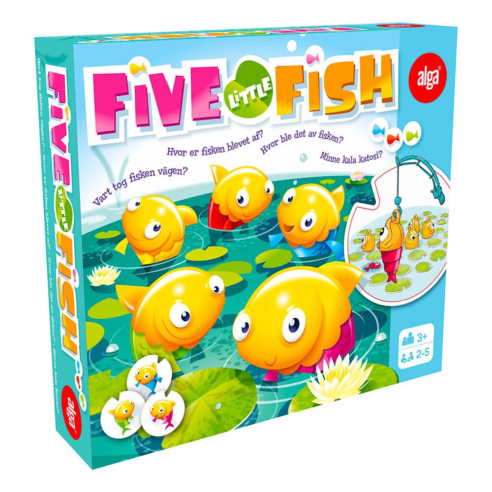 Five Little Fish Barnspel