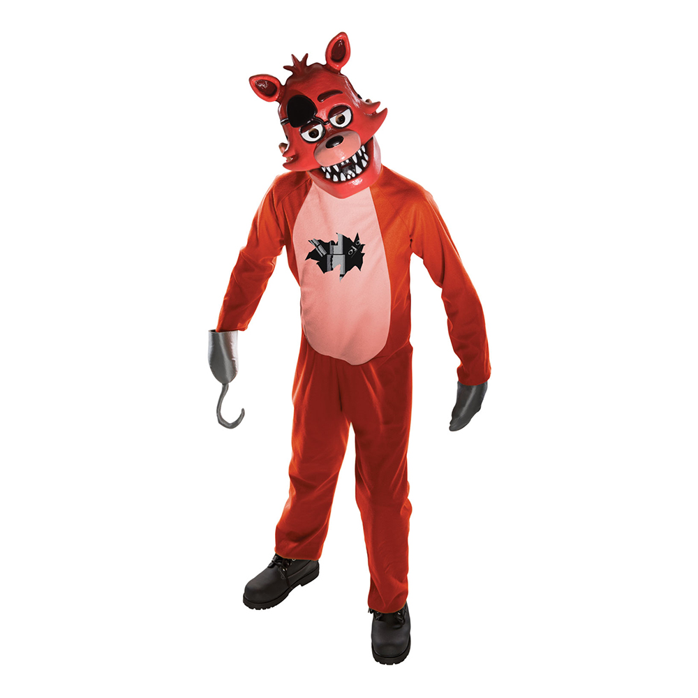 Five Nights at Freddy's Foxy Barn Maskeraddräkt - Medium