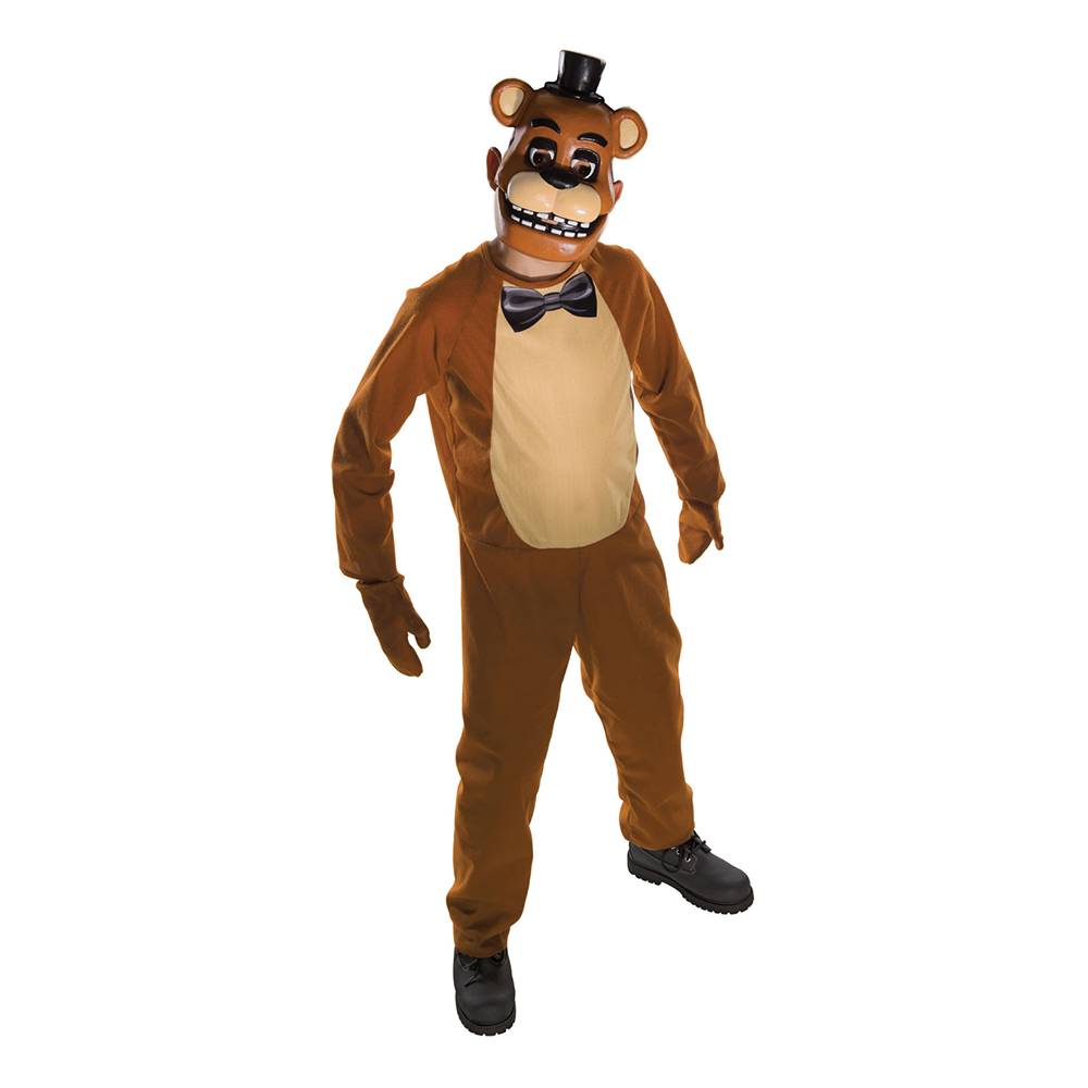Five Nights at Freddy's Freddy Barn Maskeraddräkt - Medium