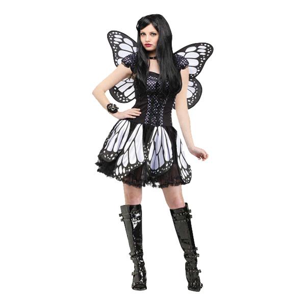 Fjärilsklänning Maskeraddräkt - One size