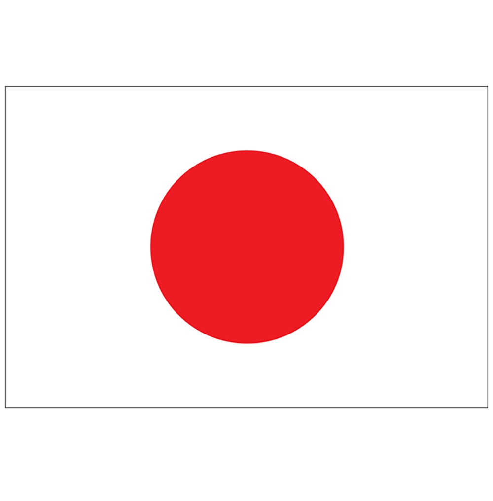 Japanflaggor - Flagga Japan